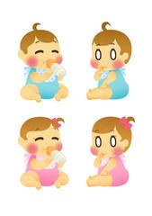 赤ちゃん 男の子 女の子