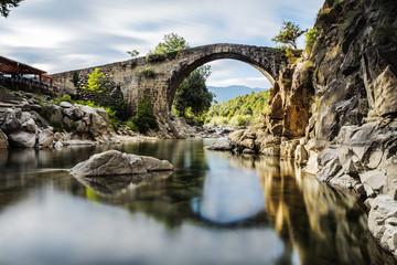 The bridge Romano. Candeleda. Spain