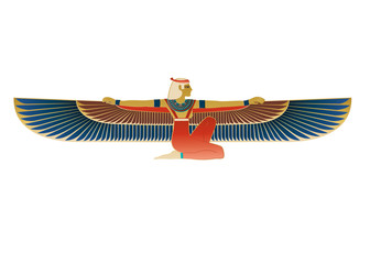 Egyptian Icon Winged Figure