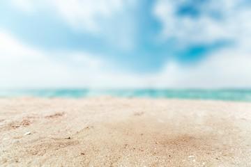 Sand, beach, summer.