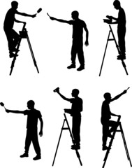 painter collection - vector