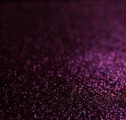 glitter lights background. light silver , gold, purple, black