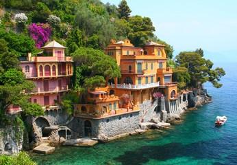 Seaside villas in Italy