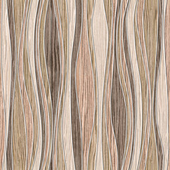 Abstract paneling pattern - waves decoration - seamless backgrou