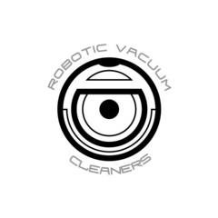 Vacuum cleaner robot symbol