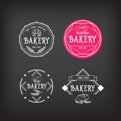 Bakery icon design. Menu badge vintage.