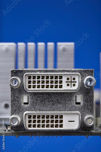DVI ports on motherboard
