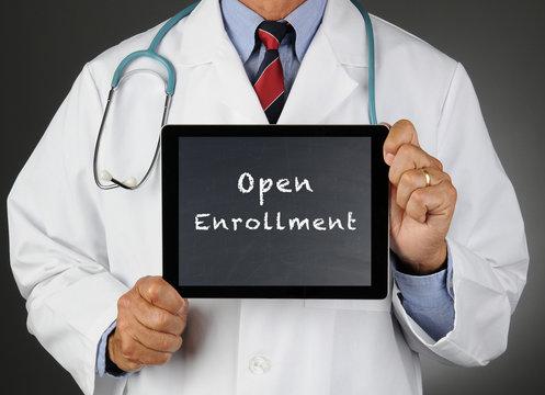 Doctor Tablet Computer Open Enrollment