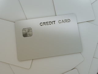 Credit card front