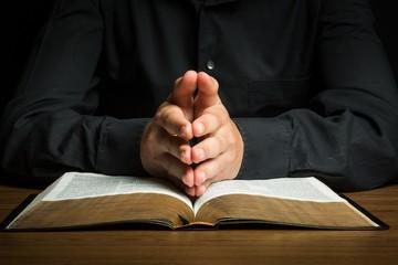 Praying, Bible, Spirituality.