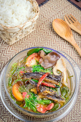 Cuisine of northern Thailand.