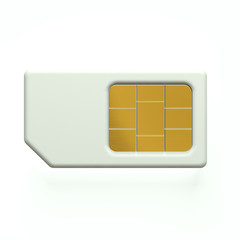 3D Sim card cellphone