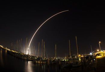Delta IV launch with a GPS cargo launched from Cape Canaveral, Florida