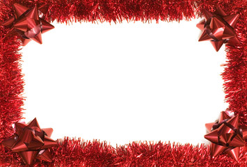 Christmas Border with copy space.