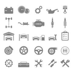 Auto Icons.vector