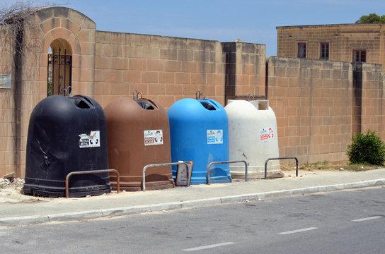 Progress: Waste separation in Malta, Southern Europe