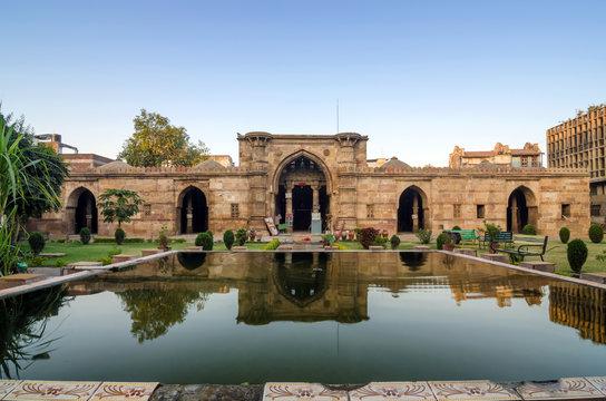 Ancient Mosque Near Sidi Saiyad Masjid in Ahmedabad