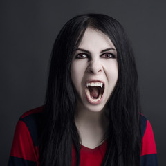 girl is a vampire