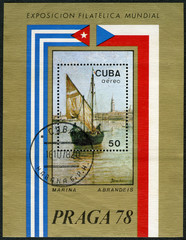 CUBA - 1978: shows Marina by A.Brandeis, Praga78