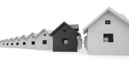 Houses business concept