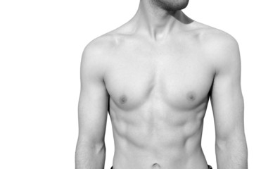 Well toned male body