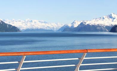 Ship in Alaska
