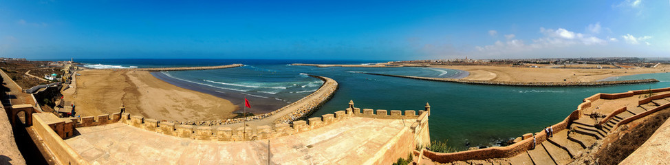 Morocco. Rabat. View from Kasbah