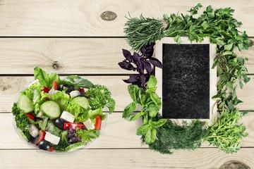 Wall Mural - Salad, food, takeaway.