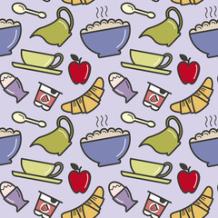 Breakfast pattern