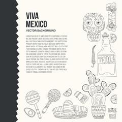 Mexico Card Template