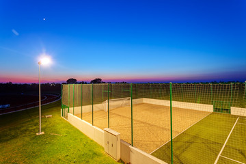 Small football pitch