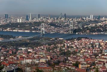 Bosphorus bridge from camlica