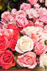bouquet fabrics rose