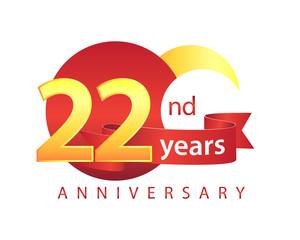 22 Years Anniversary Logo