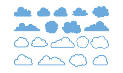 Simple Cloud Shape Variation
