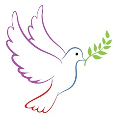 Peace Dove Color