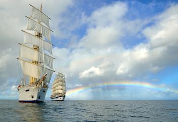 Cruises on sailing ships