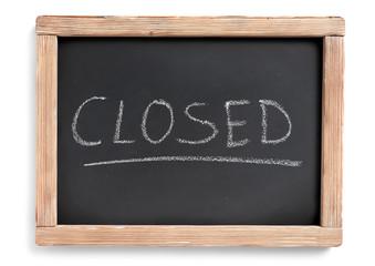closed blackboard
