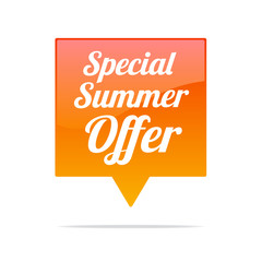 Special Summer Offer Tag