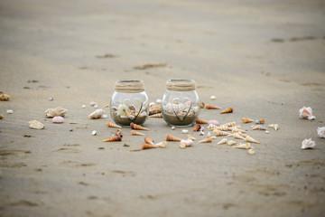 Jars on a Beach