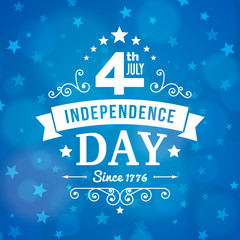 Vector independence day 4th July america poster