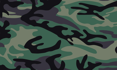 vector background of green camo pattern