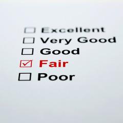 Check list fair