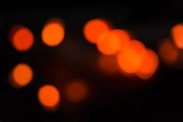 Halloween decorations - lights