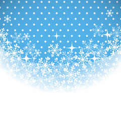 Winter background with place for your text.