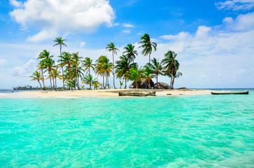 Aluminium Prints Green coral Paradise Tropical Island