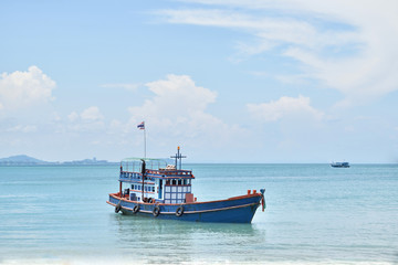 Ships and the sea in Thailand