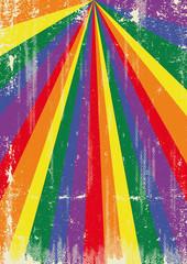 Gay grunge sunbeams