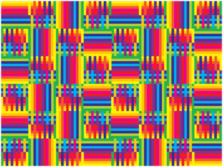 bright vector squares and lines background