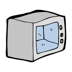 cartoon microwave